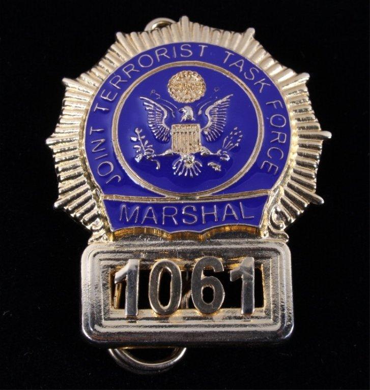 US Marshal Terrorist Task Force Badge
