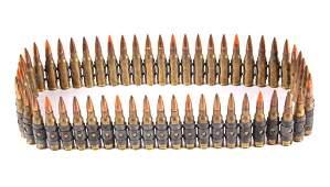 Vietnam War Remington 308 Machine Gun Ammo  Belt