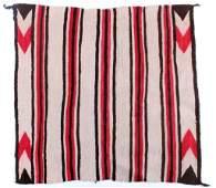 Early 1900 Navajo Indian Saddle Blanket