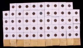 Collection Of Error Pennies