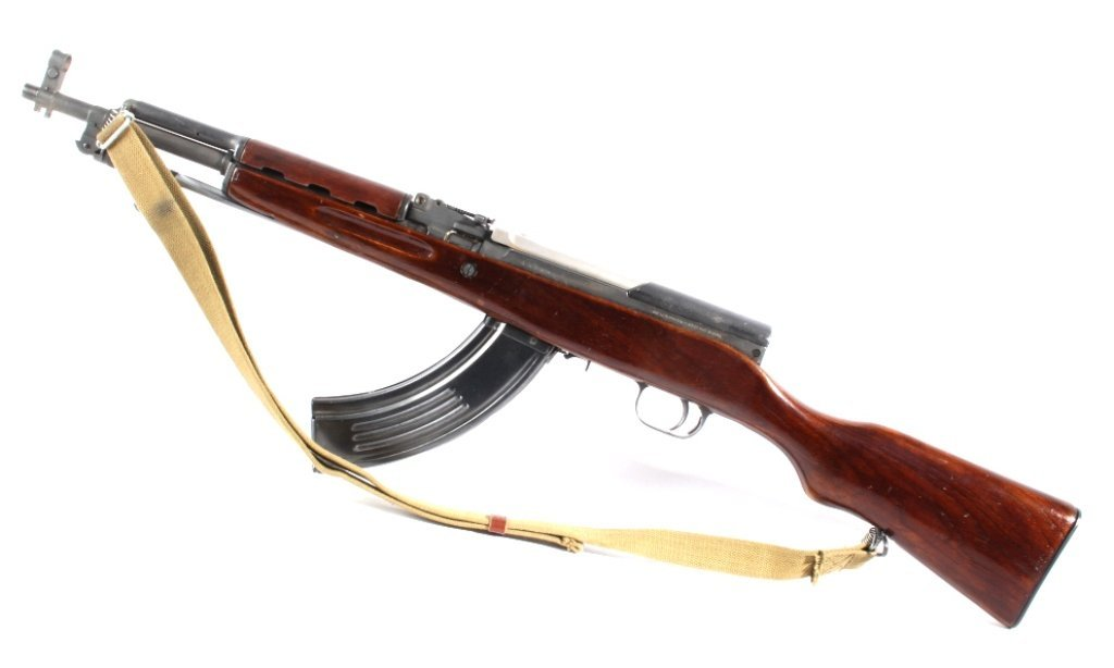 Rare Chinese Paratrooper Carbine SKS Rifle - 2