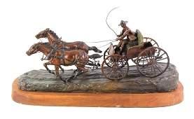 Earle E Heikka Bronze c 1938 19101941 Montana