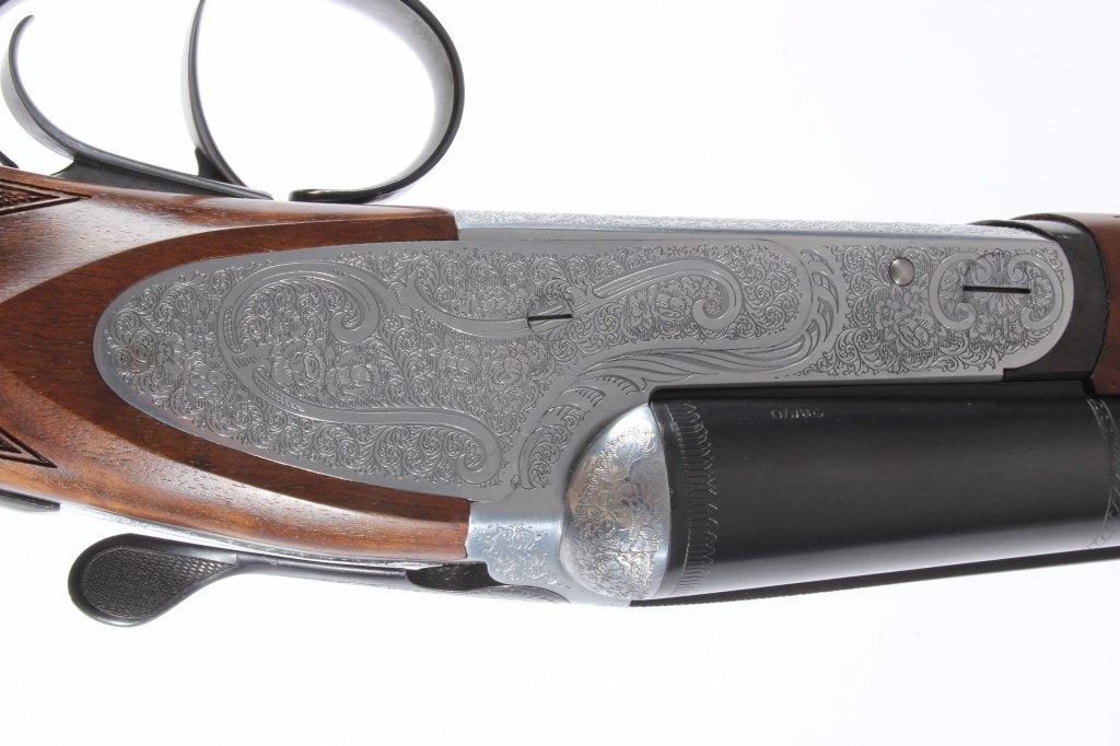Weatherby Athena D'Italia SxS 28 GA Shotgun Deluxe - 2