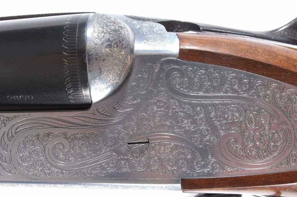 Weatherby Athena D'Italia SxS 28 GA Shotgun Deluxe - 3