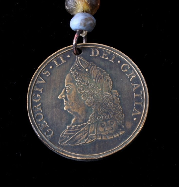 Treaty of Easton Indian Peace Medal 1787
