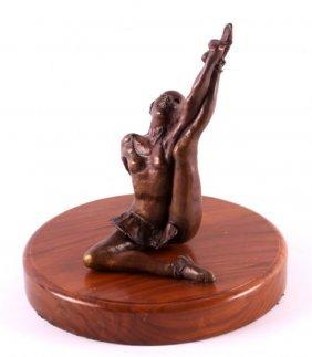 Ballet Dancer Bronze Sculpture