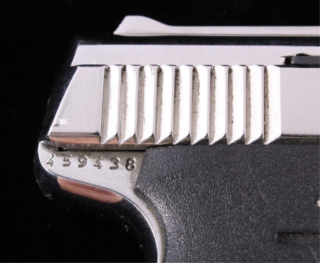 Bryco Jennings J-22 .22LR Pistol Nickel Finish - 5