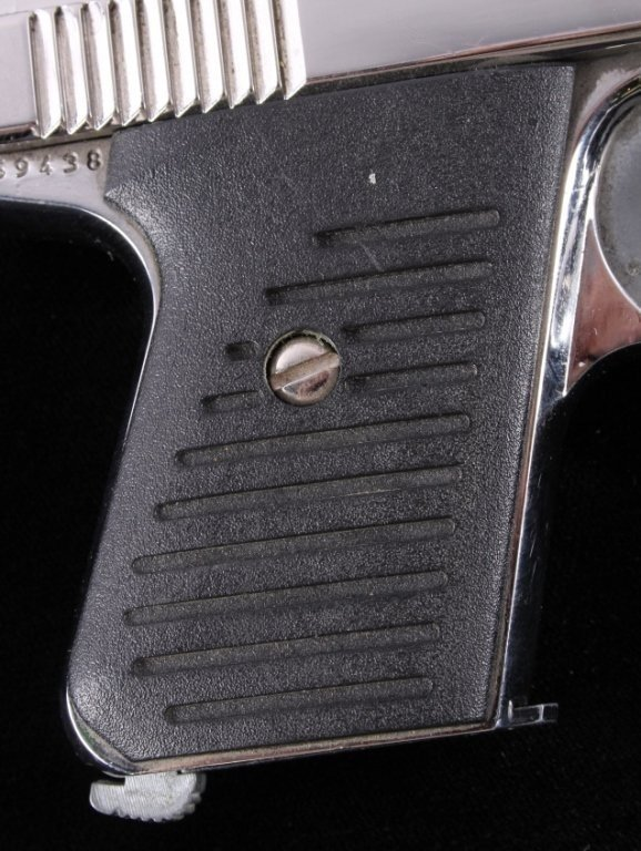 Bryco Jennings J-22 .22LR Pistol Nickel Finish - 6