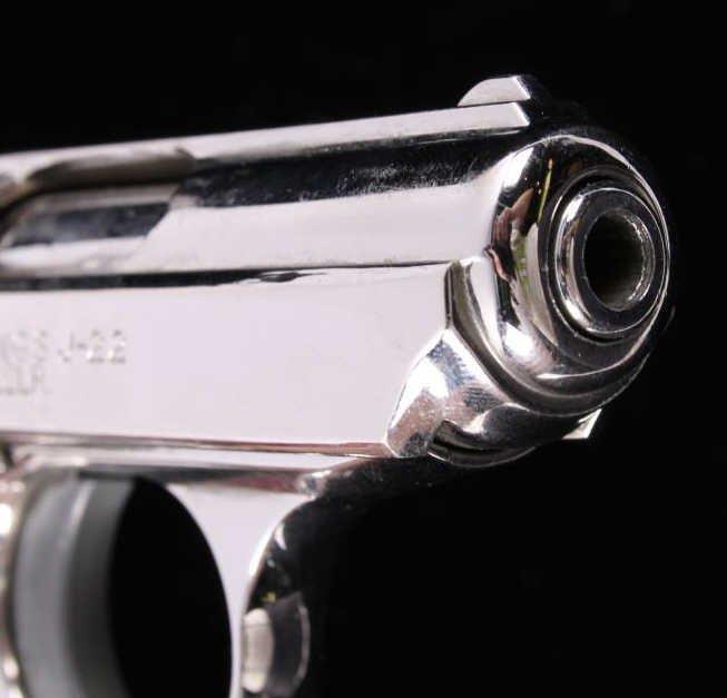 Bryco Jennings J-22 .22LR Pistol Nickel Finish - 7
