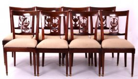 Antique Mahogany Dining Room Chairs