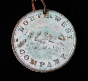 North West Company Beaver Token Circa 1820