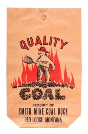 Smith Coal Bag From Red Lodge Montana