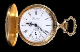 Kaltron Incabloc 17 Jewel Swiss Made Pocket Watch