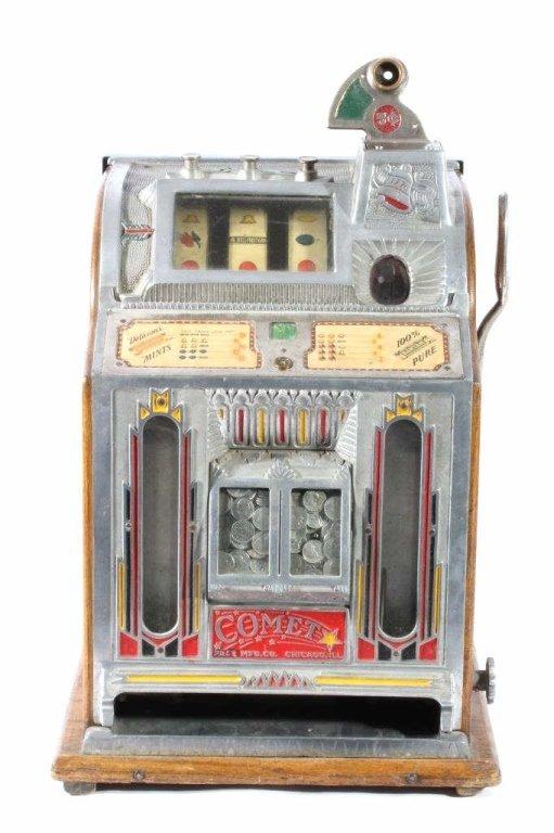 Comet Pace Twin Jackpot 5 Cent Slot Machine 1930