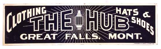 The Hub Sign from Great Falls Montana