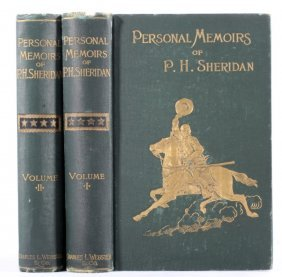 Personal Memoirs Of P.h. Sheridan First Edition