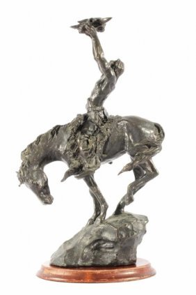 Appeal To The Great Spirit Bronze By Buck Mccain