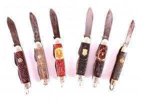 Boy Scout Camp Pocket Knife Collection