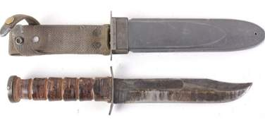 USN MK2 Navy Combat Knife & Scabbard