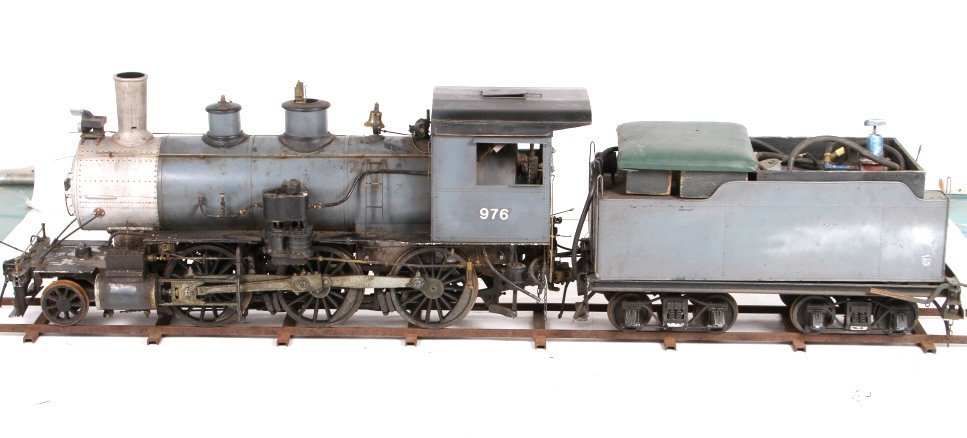 "Live Steam Propane 7.5"" Gauge Locomotive Ride-On"