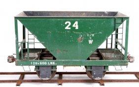 "Or&w Hopper Car 7.5"" Gauge Live Steam Railroad"