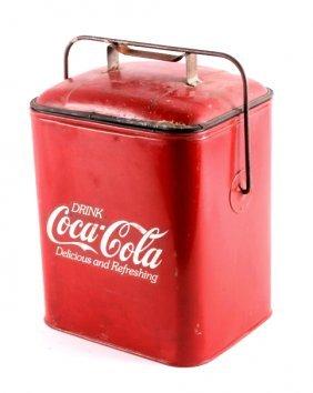 Coca Cola Advertising Beverage Cooler