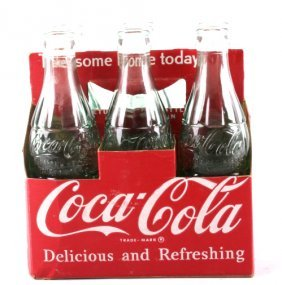 6 Coca Cola Bottle, 3 From Bozeman Mont. 1950's