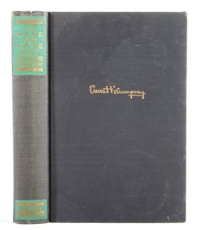 To Have And Have Not By Hemingway Scribner 1937