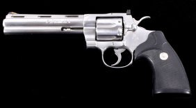 "Colt Python 357 Mag Stainless Steel 6"" Unfired"