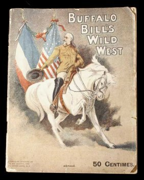 Buffalo Bill's Wild West Show Program France 1905