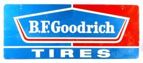 B.f. Goodrich Tires Double Sided Advertising Sign