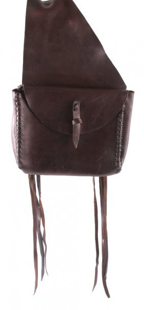 Montana Western Leather Saddle Bags