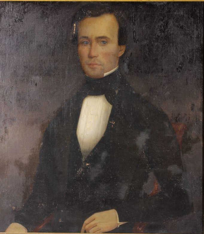 Portrait of Elias Boudinot IV by Charles W. Peale