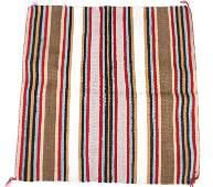 Navajo Wool Saddle Blanket Early 20th C.