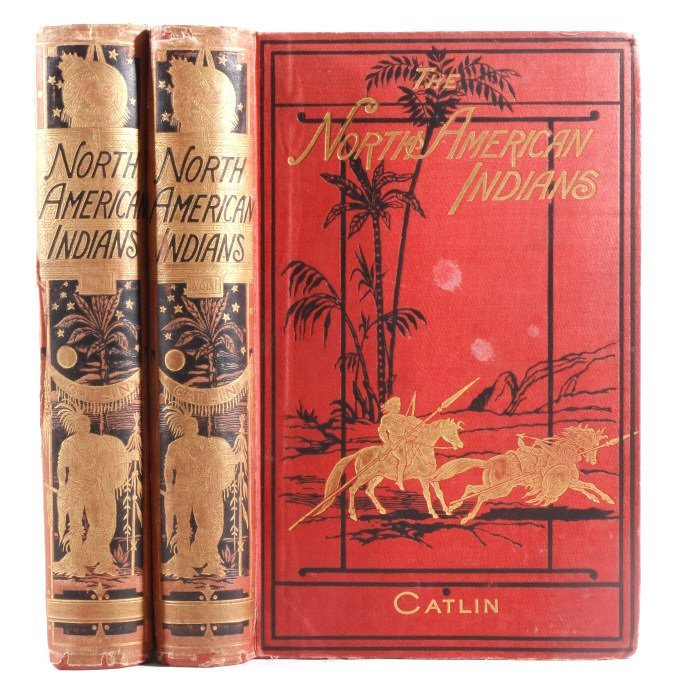 North American Indians by Catling c. 1841 1st Ed.