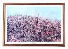 Edward S Paxson Custer Framed Print