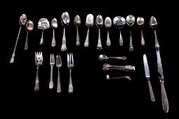 Assorted Sterling Silver Silverware