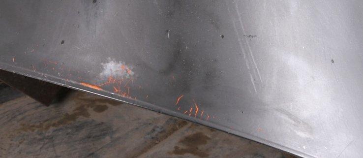 Mid Century Eames Era Malm Preway Fireplace - 3