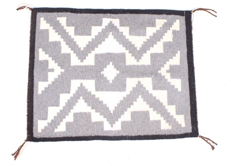 Navajo Native American Storm Pattern Rug - 5