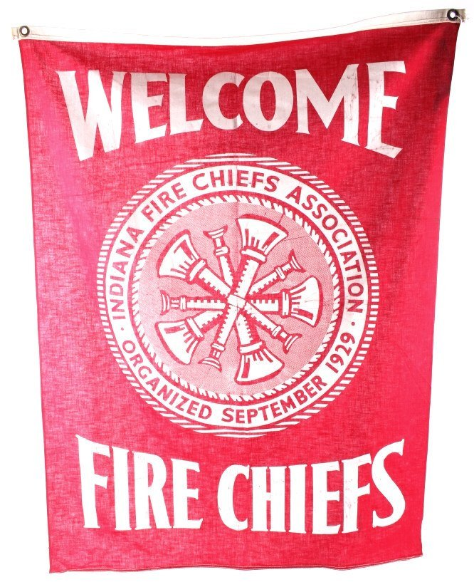 Indiana Fire Chiefs Association Banner