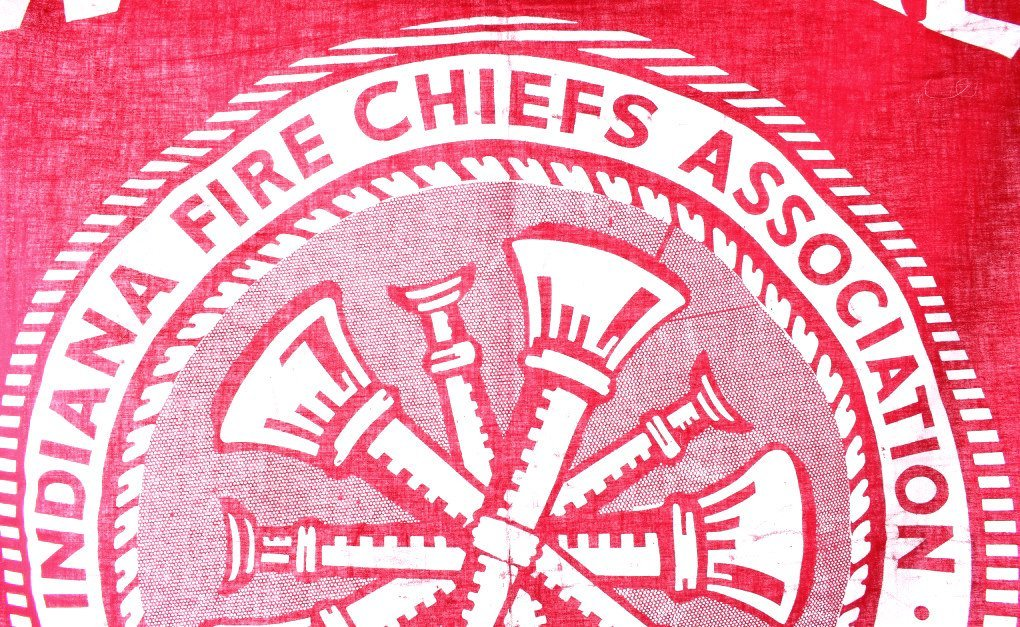 Indiana Fire Chiefs Association Banner - 8