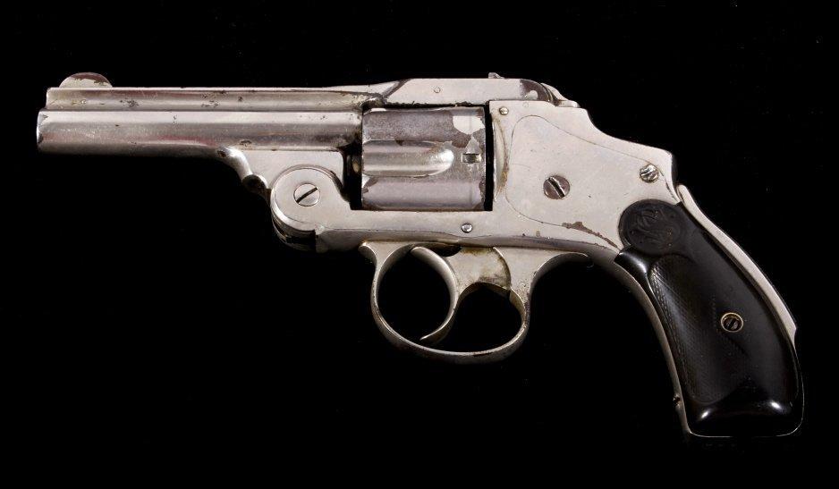 Smith & Wesson Lemon Squeezer .38 Revolver Nickel