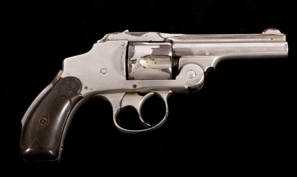 Smith & Wesson Lemon Squeezer .38 Revolver Nickel - 2