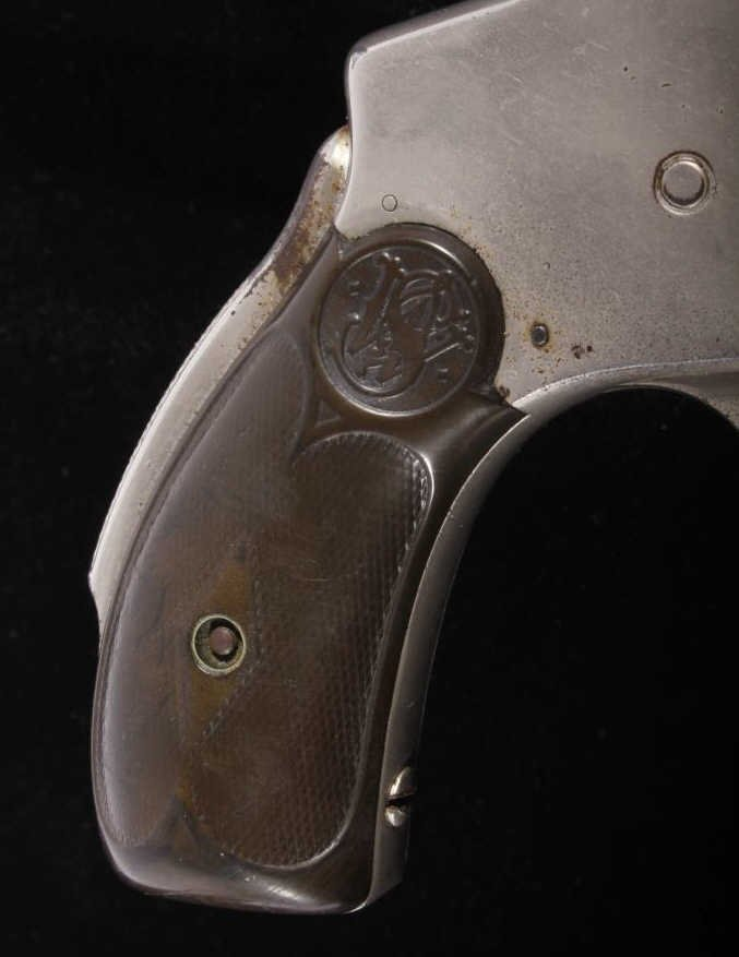 Smith & Wesson Lemon Squeezer .38 Revolver Nickel - 5