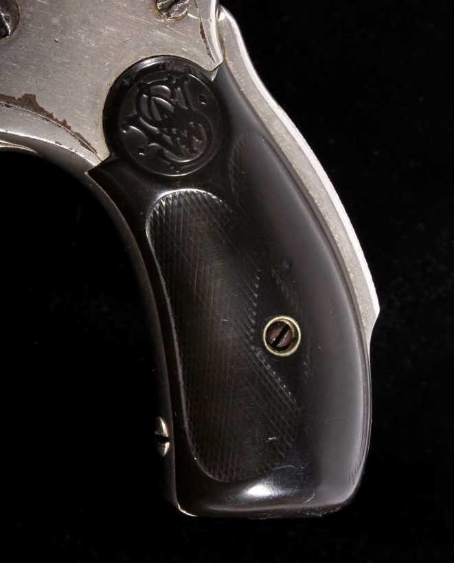 Smith & Wesson Lemon Squeezer .38 Revolver Nickel - 6