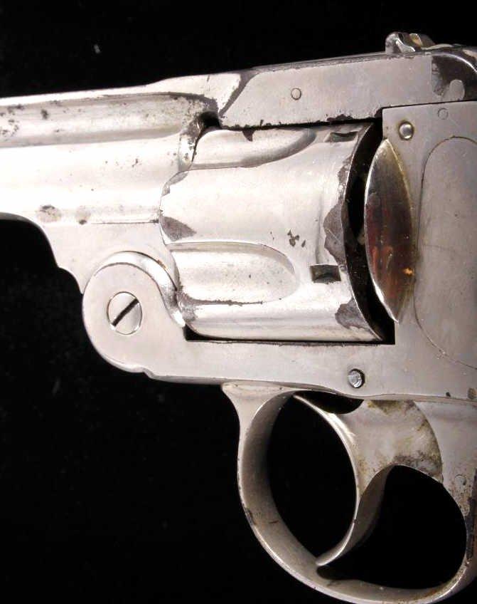 Smith & Wesson Lemon Squeezer .38 Revolver Nickel - 7