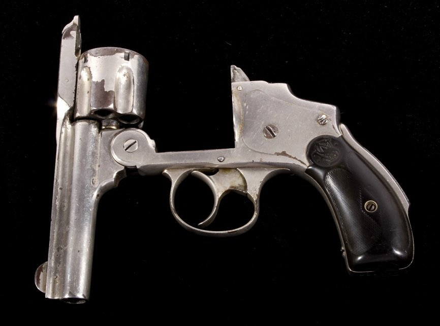 Smith & Wesson Lemon Squeezer .38 Revolver Nickel - 9