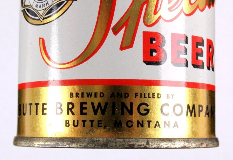 Butte Special Beer Cone Top Can with Cap - 4