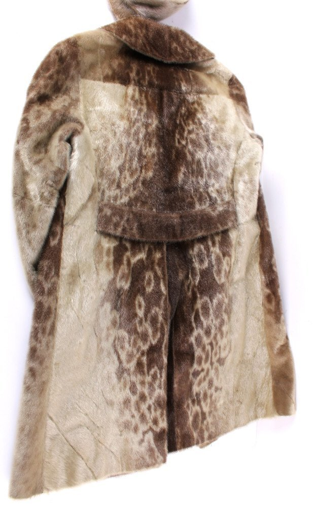 Magasin Du Nord Seal Skin Coat With Hat - 5