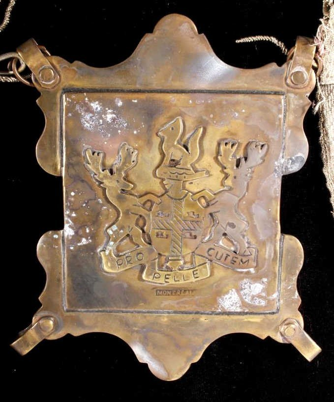 Hudson Bay Co. Silver Mirror Gorget c. 1680-1820 - 2